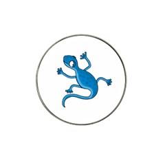Blue lizard Hat Clip Ball Marker (4 pack)