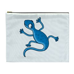 Blue lizard Cosmetic Bag (XL)