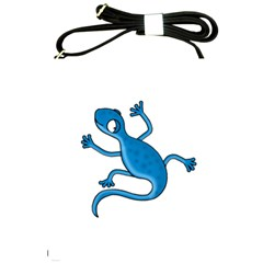 Blue lizard Shoulder Sling Bags