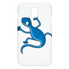 Blue lizard Samsung Galaxy S II Skyrocket Hardshell Case