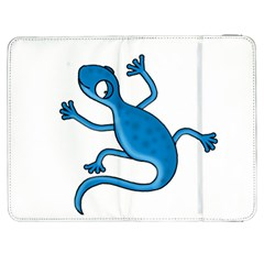 Blue lizard Samsung Galaxy Tab 7  P1000 Flip Case