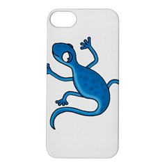 Blue lizard Apple iPhone 5S/ SE Hardshell Case