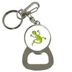 Green lizard Bottle Opener Key Chains