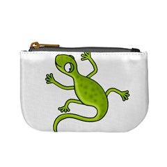 Green lizard Mini Coin Purses