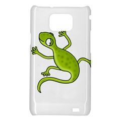 Green lizard Samsung Galaxy S2 i9100 Hardshell Case