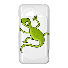 Green lizard HTC Droid Incredible 4G LTE Hardshell Case