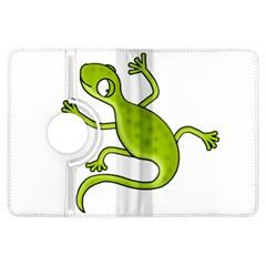 Green lizard Kindle Fire HDX Flip 360 Case