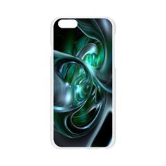 Ws Blue Green Float Apple Seamless iPhone 6/6S Case (Transparent)