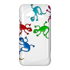 Colorful lizards HTC Droid Incredible 4G LTE Hardshell Case