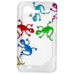 Colorful lizards HTC Incredible S Hardshell Case