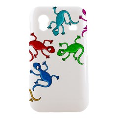 Colorful lizards Samsung Galaxy Ace S5830 Hardshell Case