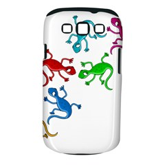 Colorful lizards Samsung Galaxy S III Classic Hardshell Case (PC+Silicone)