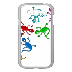 Colorful lizards Samsung Galaxy Grand DUOS I9082 Case (White)