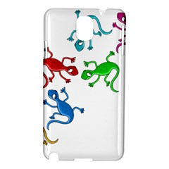 Colorful lizards Samsung Galaxy Note 3 N9005 Hardshell Case