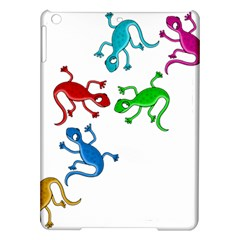 Colorful lizards iPad Air Hardshell Cases