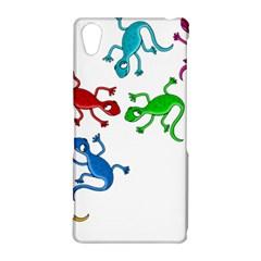 Colorful lizards Sony Xperia Z2