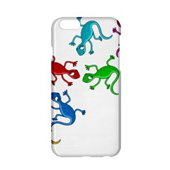 Colorful lizards Apple iPhone 6/6S Hardshell Case