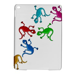 Colorful lizards iPad Air 2 Hardshell Cases