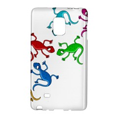 Colorful lizards Galaxy Note Edge