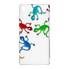 Colorful lizards Sony Xperia Z3