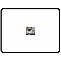Birman second Fleece Blanket (Large)