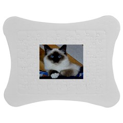 Birman second Jigsaw Puzzle Photo Stand (Bow)