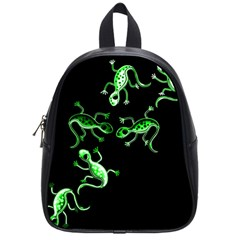 Green lizards School Bags (Small)