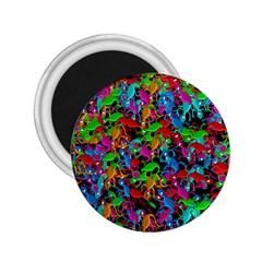 Lizard pattern 2.25  Magnets