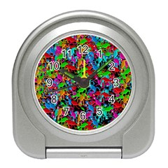 Lizard pattern Travel Alarm Clocks