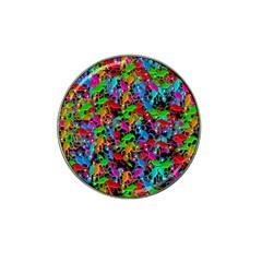 Lizard pattern Hat Clip Ball Marker (10 pack)