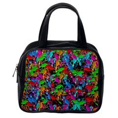 Lizard pattern Classic Handbags (One Side)