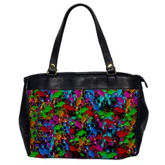 Lizard pattern Office Handbags