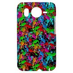 Lizard pattern HTC Desire HD Hardshell Case