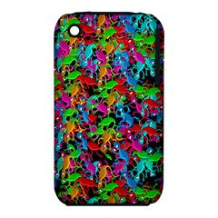 Lizard pattern Apple iPhone 3G/3GS Hardshell Case (PC+Silicone)