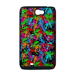 Lizard pattern Samsung Galaxy Note 2 Hardshell Case (PC+Silicone)