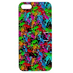 Lizard pattern Apple iPhone 5 Hardshell Case with Stand