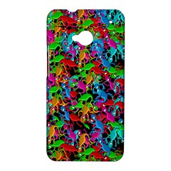 Lizard pattern HTC One M7 Hardshell Case