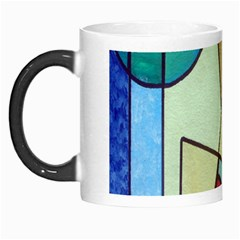 Abstract Art Face Morph Mugs