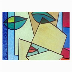 Abstract Art Face Collage Prints