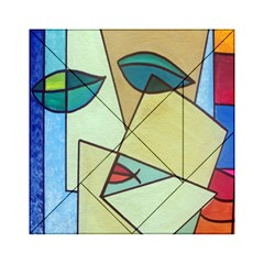 Abstract Art Face Acrylic Tangram Puzzle (6  x 6 )
