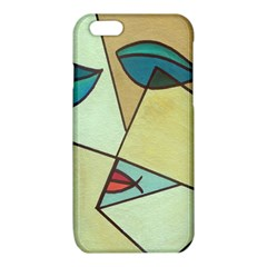 Abstract Art Face iPhone 6/6S TPU Case