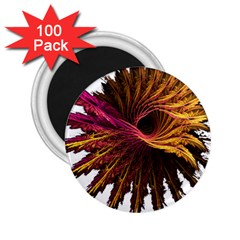 Abstract Fractal 2.25  Magnets (100 pack)