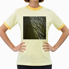 Architecture Women s Fitted Ringer T-Shirts