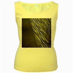 Architecture Women s Yellow Tank Top