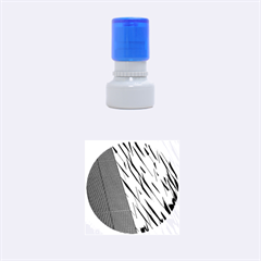 Architecture Rubber Round Stamps (Small)