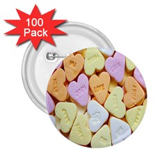 Candy Pattern 2.25  Buttons (100 pack)
