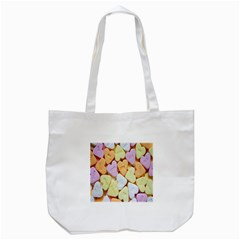Candy Pattern Tote Bag (White)