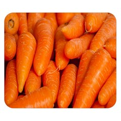 Carrots Vegetables Market Double Sided Flano Blanket (Small)