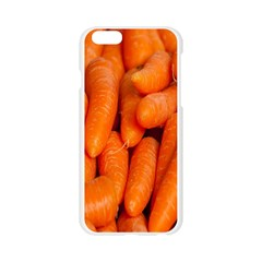 Carrots Vegetables Market Apple Seamless iPhone 6/6S Case (Transparent)