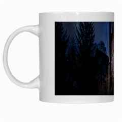 Castle Mystical Mood Moonlight  White Mugs